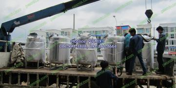"Design and Manufacturing ""Stainless Steel Tank"""