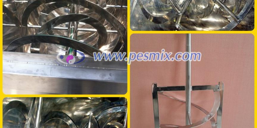 Helical Ribbon Impeller