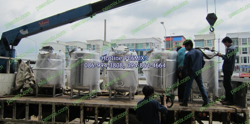 """Design and Manufacturing """"Stainless Steel Tank"""""""